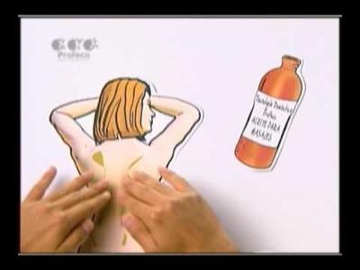 """Aceite para dar masajes [""""Tecnología Doméstica Profeco"""" 25.5]"""