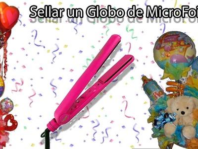 Aprende a Decorar con Globos. Como sellar globos de MicroFoil o Metalizados