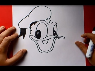 Como dibujar al pato Donald paso a paso | How to draw Donald duck