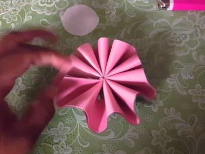Flor estrella 2 colores