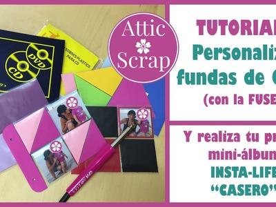 TUTORIAL: Cómo personalizar fundas de CD (INSTA LIFE Casero)