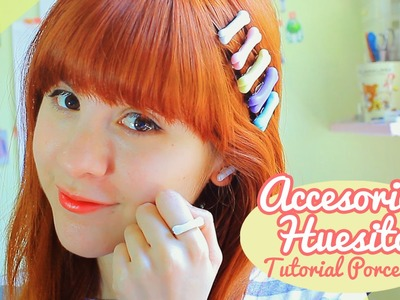 ♡ Accesorios de Huesitos!. Tutorial porcelana en frío ♡ By Piyoasdf