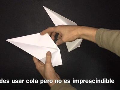 Adornos De Navidad. Estrellas Origami