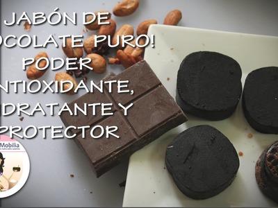 CHOCOLATERAPIA A DIARIO!  JABÓN 100% CHOCOLATE EN BARRA