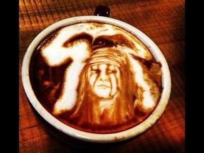 COMO HACER DIBUJOS EN EL CAFE 2015