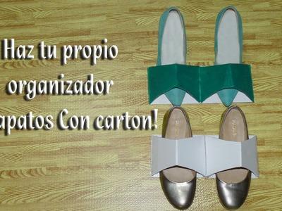 Como hacer un sujetador u organizador de Zapatos