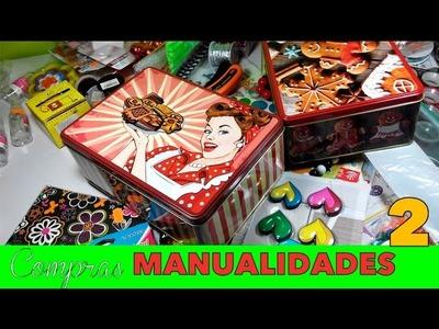 Compras de Materiales de Manualidades 2 Haul