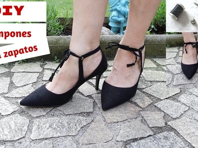 DIY: Pompones o Borlas para zapatos