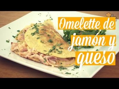 Omelette de jamón y queso | Recetas fáciles | Recetas iMujer