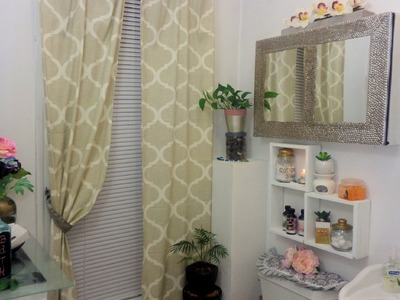 Organizador para baño. DIY Muebles organizadores