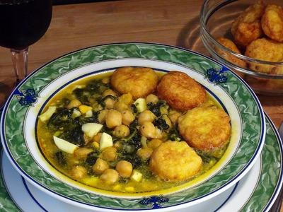 Receta Potaje de Cuaresma - Recetas de cocina, paso a paso, tutorial