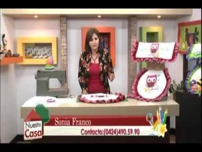 Sonia Franco. Juego de Baño con Sublimaciòn 3.5