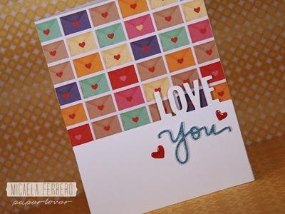 Tarjeta de San Valentín Love You
