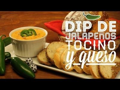 ¿Cómo preparar Dip de Jalapeños Tocino y Queso? - Cocina Fresca