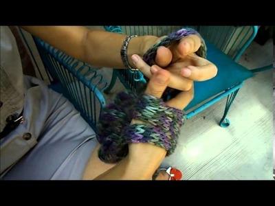 Cómo tejer un Cuello con las manos