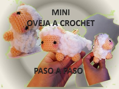 Tutorial mini oveja crochet Amigurumi