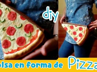 Como hacer un Bolso Pizza