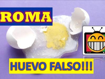 DIY HUEVO FALSO PARA BROMAS - NUEVAS BROMAS 2016