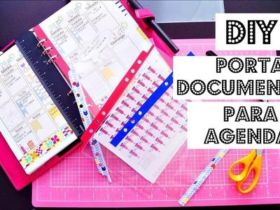 DIY Porta documentos para agenda! | Julieta Jareda