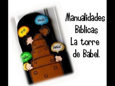 Manualidades bíblicas. Torre de Babel