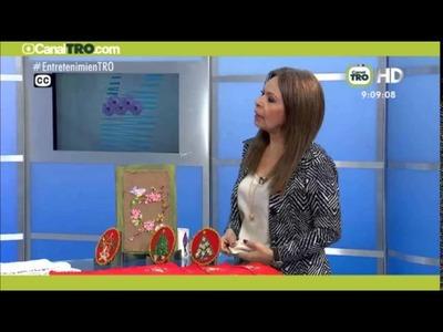 Adornos navideños reutilizando CDs   Hecho con estilo 07 de septiembre
