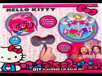 DIY - Hello Kitty balsamos labiales para niñas  Lip Balm Lip Gloss