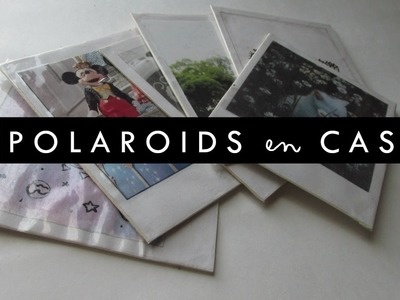 DIY: ¡Polaroids en casa! - 3 ideas