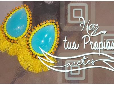 Haz tus propios aretes - Bisuteria con Kath Craft -
