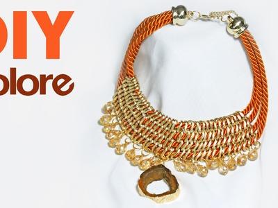 DIY Collar Hilo de Seda | Colore Accesorios