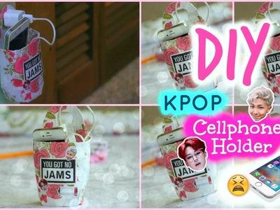 DIY | KPOP Cellphone Holder | Kpop Crafts