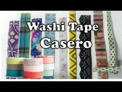 DIY: Como hacer Washi Tape Casero (varias ideas) DelCarmenArtesanal