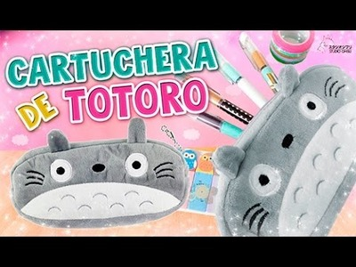 DIY KAWAII ☆ CARTUCHERA. LAPICERA DE TOTORO ☆ REGRESO A CLASES l Fabbi Lee