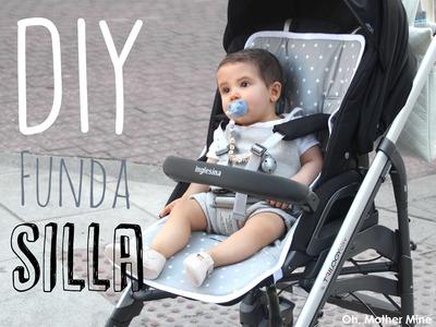 DIY Tutorial y patrones de funda para silla de bebe