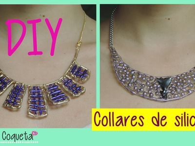 DIY Collares de silicon