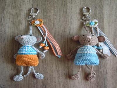 Llaveros Tejidos  en crochet