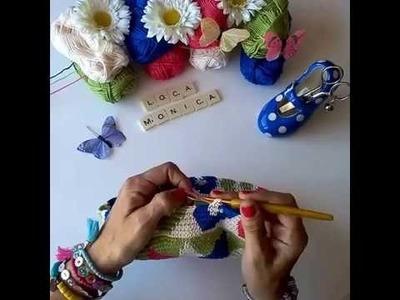 Tapestry crochet. Bolso.