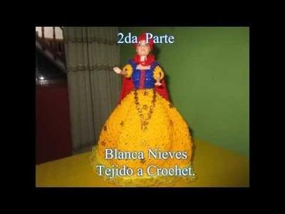 VESTIDO DE BLANCA NIEVES PARA MUÑECA A CROCHET - 2DA. PARTE