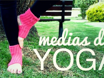 MEDIAS DE YOGA a crochet (ENGLISH SUB) | tutorial paso a paso AHUYAMA CROCHET
