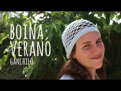 Tutorial Boina Calada Verano Ganchillo | Crochet