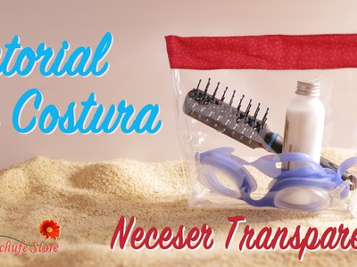 Tutorial #48 - Como hacer un Neceser Transparente - How to make a transparent neceser