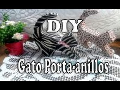 DIY: Decorativo gatito porta anillos reciclado