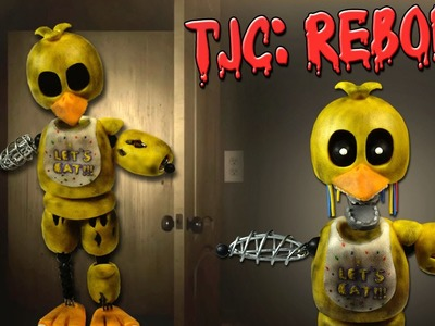 "The Joy of Creation: Reborn ★ IGNITED CHICA ""Tutorial"" - Porcelana fria ★ Polymer clay ★ Plastilina"