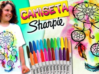 CAMISETAS Personalizadas con SHARPIES (II) Atrapasueños* DIY Sharpie Tie Dye