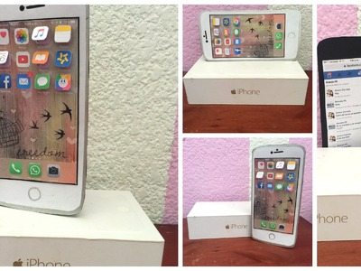 Carta en forma de Iphone 6 PLUS |Brenda PE|