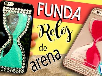 Funda para móvil RELOJ de ARENA * FUNDAS para CELULAR caseras