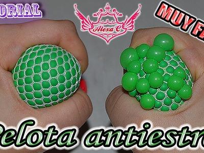 ♥ Tutorial: Pelotita Antiestrés con burbujitas [MUY FÁCIL] ♥