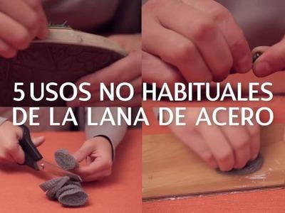 5 usos de la lana de acero | @iMujerHogar