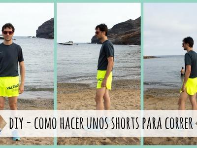 DIY - Como hacer unos shorts para correr desde unas camisetas