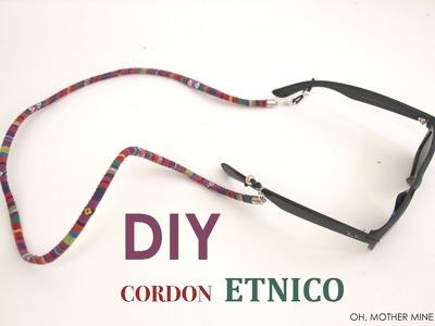 DIY Cordon de gafas etnico