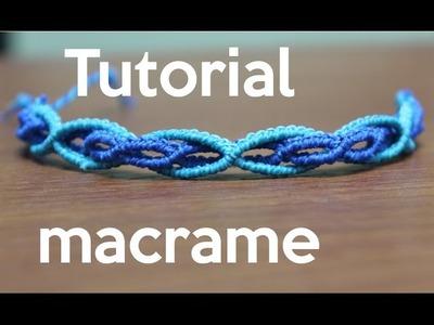 Pulsera de hilos doble tutorial macrame | friendship bracelet